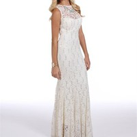 Pre-Order: Destinee-Ivory Lace Prom Dress
