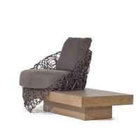 Kenneth Cobonpue Noodle Easy Armchair, Flexform & Contemporary Furniture Atlanta | SwitchModern