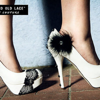 Arsenic and Old Lace High Heel Shoes in White