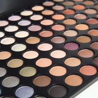 88 Color Warm Eye Shadow Palette