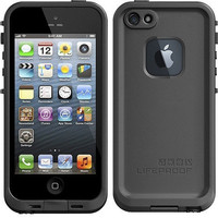 LIFEPROOF FRE apple IPHONE 5 case cover black color in retail box