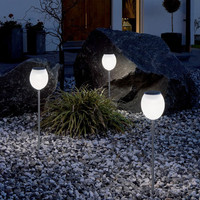 CIS-41271A Environmental protection bright white LED Solar LED Lawn Light China Wholesale - Everbuying.com