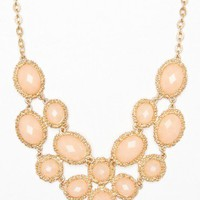 Jahan Necklace in Peach - ShopSosie.com