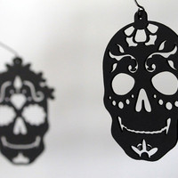 Day of the Dead mobile Dia de los Muertos by SaltyandSweet on Etsy