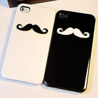 iphone 4 case, iphone 4s case iphone cover - avanty beard iphone 4 case