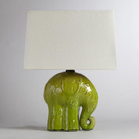 Elephant Ceramic Table Lamp - World Market