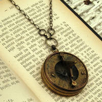 Sun Dial Necklace