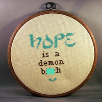 Hope Is A Demon Btch by katiekutthroat on Etsy