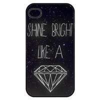Amazon.com: Shine Bright Like a Diamond Iphone 4 Case: Everything Else