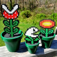 Super Mario Bros Potted Plants by melloduck on Etsy