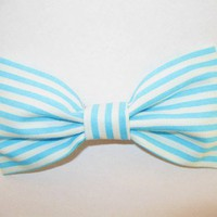 Love What's Missing | Candy Stripes hair bow | Online Store Powered by Storenvy