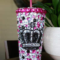 Bling Tumbler w/ Crown