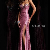Sherri Hill 2977 at Prom Dress Shop