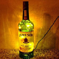 Lighted Jameson Irish Whiskey Bottle Decorative Lamp Great for Gift
