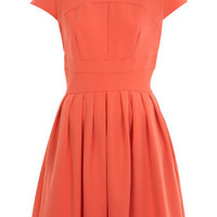 Coral Skater Dress - View All - New In - Miss Selfridge