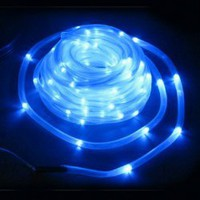 CIS-42166 100-LED Plastic Solar LED Garden Tube Light String for Christmas / Holidays (Blue) Hot Sale At Wholesale Price - Gadgetsdealer.com