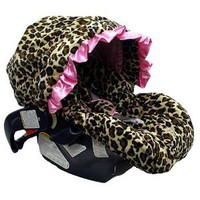 Amazon.com: Baby Bella Maya Pink Leopard Infant Car Seat Cover: Baby Bella Maya: Toys &amp; Games