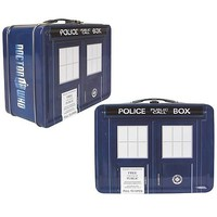 Amazon.com: Doctor Who Tardis Tin Lunch Box: Kitchen & Dining