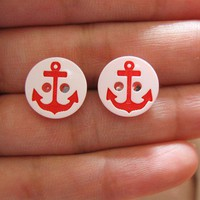 Love What&#x27;s Missing | Anchor Earrings | Online Store Powered by Storenvy