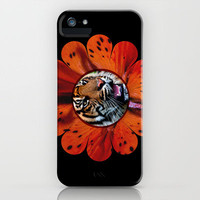 TIGER LILY iPhone Case by catspaws | Society6