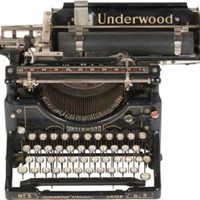 One Kings Lane - Russell Johnson - 1920s Underwood Typewriter