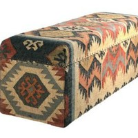One Kings Lane - Furniture & More - Barreveld Large Wood Kilim Box