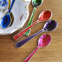 Small Jewelled Spoons ? Cox &amp; Cox, the difference between house and home.
