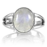 Bella's Twilight Moonstone Ring: Jewelry: Amazon.com