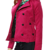 Papaya Clothing Online :: DOUBLE BREASTED COAT