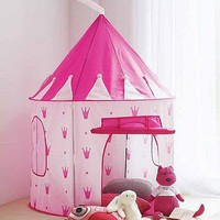 princess castle play tent by mini-u | notonthehighstreet.com
