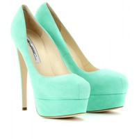 mytheresa.com -  Brian Atwood - HAMPER 150 MARILYN SUEDE PLATFORM PUMPS  - Luxury Fashion for Women / Designer clothing, shoes, bags