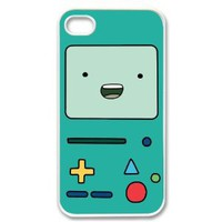 Amazon.com: Apple iPhone 4 4G 4S Beemo Adventure Time WHITE Sides Case Skin Cover Protector Accessory Vintage Retro Unique Comes in Case Cartel Packaging: Cell Phones & Accessories