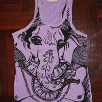 Women&#x27;s Tank Top Ganesha Yoga Cloth.. on Luulla