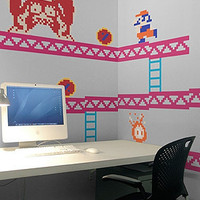 The Nintendo Donkey Kong ReStik Wall Decal : Blik : Karmaloop.com - Global Concrete Culture