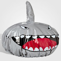 Shark-Fin-Shower-Cap | Jaws Shower Curtain | fredflare.com