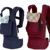 New born Baby Comfortable Backpack Cotton Sling Carrier Wrap Cotton Unique