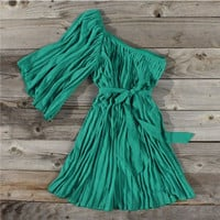 Emerald Falls Party Dress, Sweet Country Women&#x27;s Clothing