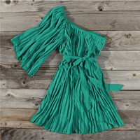 Emerald Falls Party Dress, Sweet Country Women's Clothing