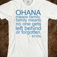 OHANA - teeshirttime