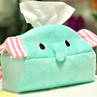Creative lovely elephant  Tissue Boxes