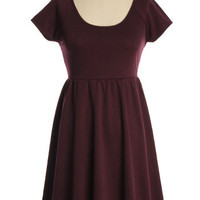 Freshman Dress in Plum - $44.95 : Indie, Retro, Party, Vintage, Plus Size, Convertible, Cocktail Dresses in Canada