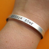Archer Danger Zone Cuff | Spiffing Jewelry