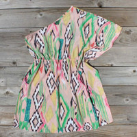 Draped In Ikat Dress, Sweet Women's Country Clothing