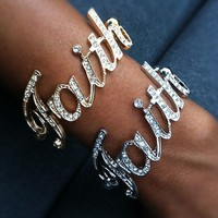 Big on Faith Bracelet