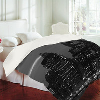 DENY Designs Home Accessories | Leonidas Oxby New York Financial District Duvet Cover