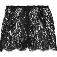 Rosamosario|B-Amami lace shorts|NET-A-PORTER.COM
