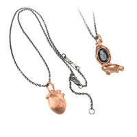 ANATOMIC HEART LOCKET necklace