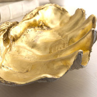 Golden Shell Bowl - Horchow