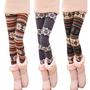fashion stripe snowflake leggings LG-3