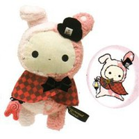 "San-X Sentimental Circus 10"" Plush: Shappo the Ring Master in a Caplet"